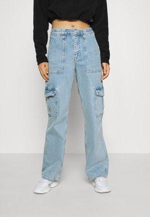 SKATE JEAN - Pantaloni cargo - bleach