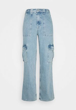 SKATE JEAN - Cargo trousers - bleach