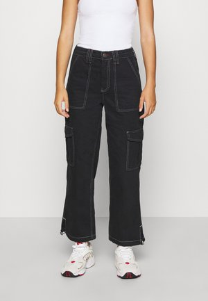 TOGGLE SKATE  - Relaxed fit jeans - black