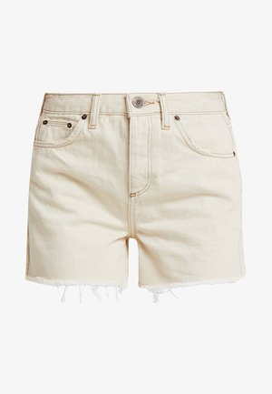 MOM - Shorts vaqueros - ivory