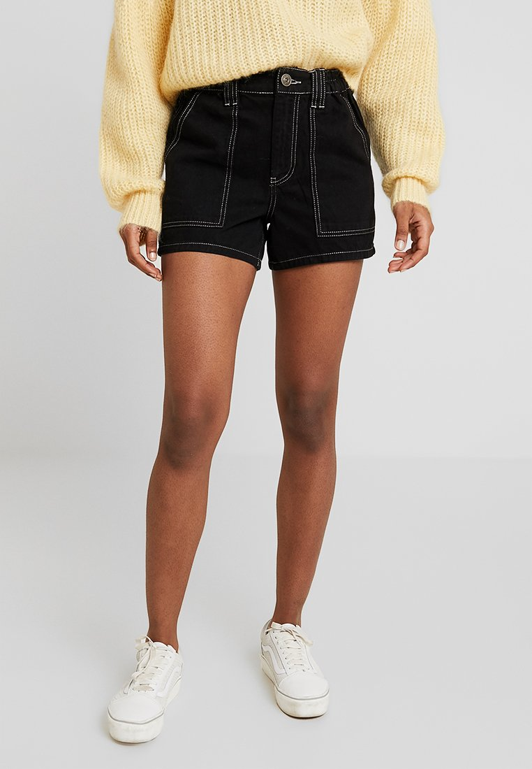 BDG Urban Outfitters - SKATE - Jeans Shorts - black