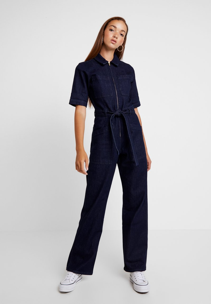 BDG Urban Outfitters - BELTED BOILERSUIT - Jumpsuit - dark vintage