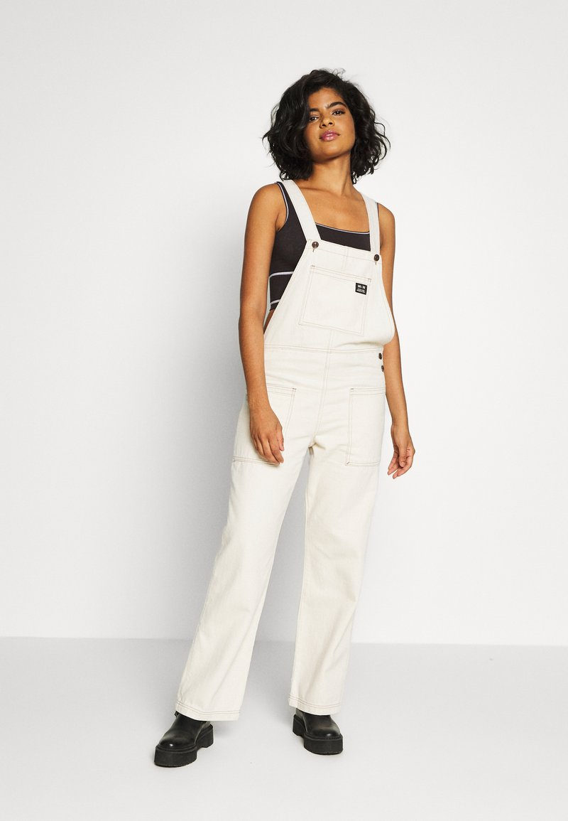 BDG Urban Outfitters - DUNGAREE - Lacláče - ecru