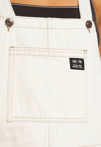 BDG Urban Outfitters - DUNGAREE - Lacláče - ecru - 7