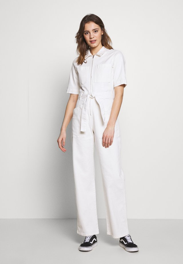 BELTED BOILERSUIT - Overall / Jumpsuit - stone