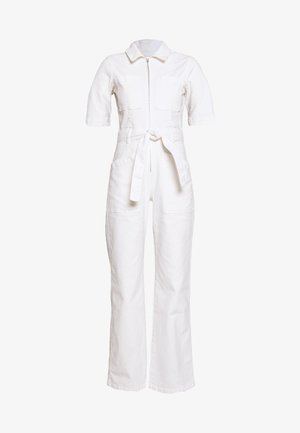 BELTED BOILERSUIT - Jumpsuit - stone