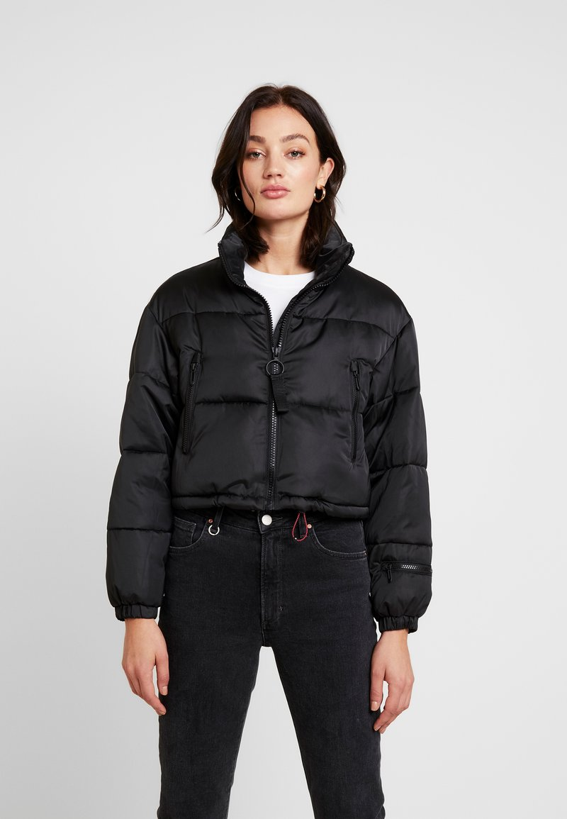 BDG Urban Outfitters - SHELLEY JACKET - Bomber Jacket - black
