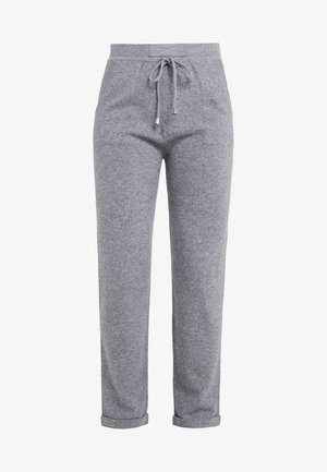 TROUSERS - Tracksuit bottoms - blue-grey
