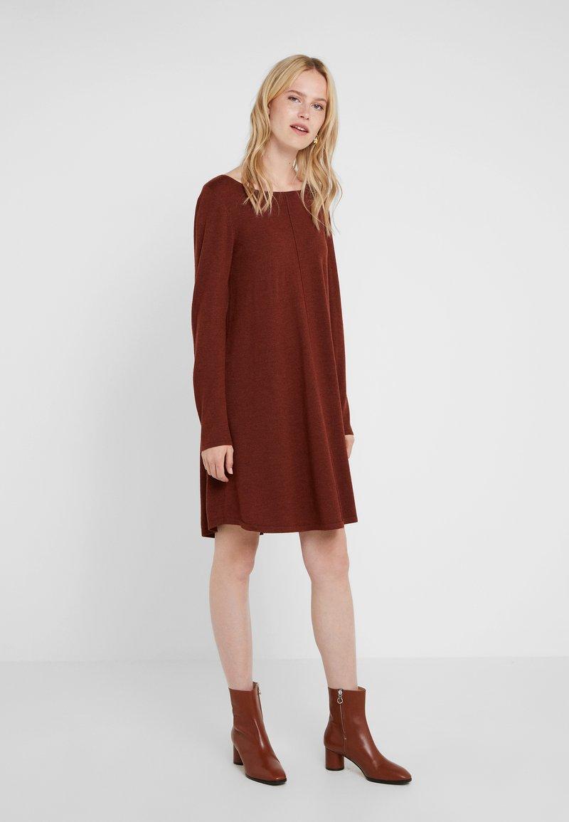 Repeat - Abito in maglia - rust