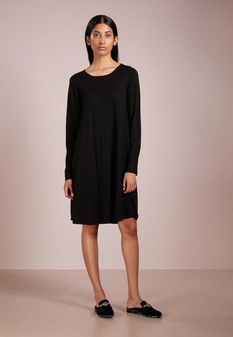 Repeat - Abito in maglia - black