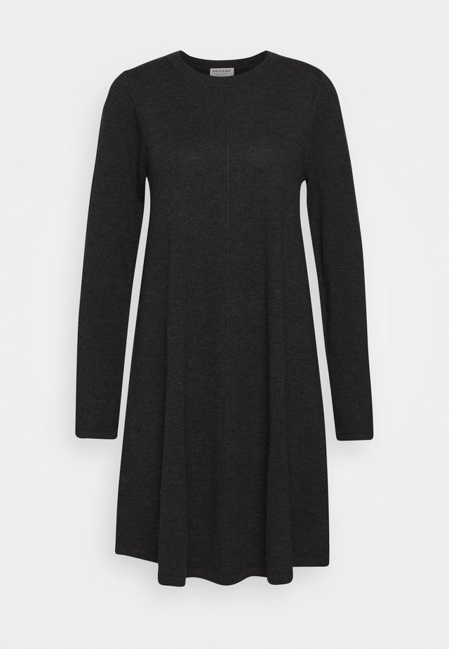 DRESS - Sukienka dzianinowa - dark grey