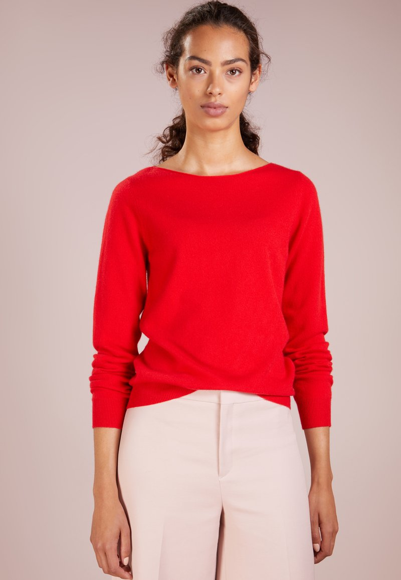 Repeat - Strickpullover - red