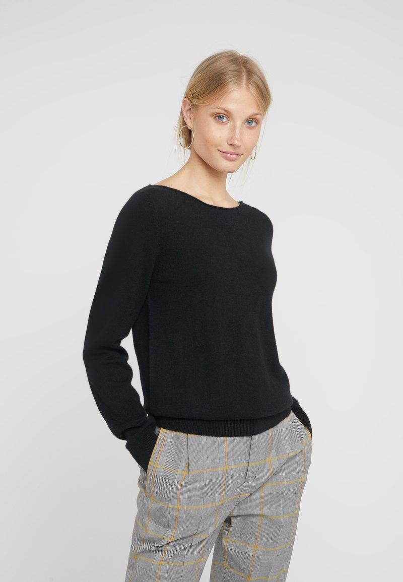 Repeat - Sweter - schwarz