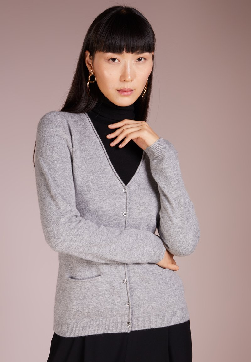 Repeat - Cardigan - light grey