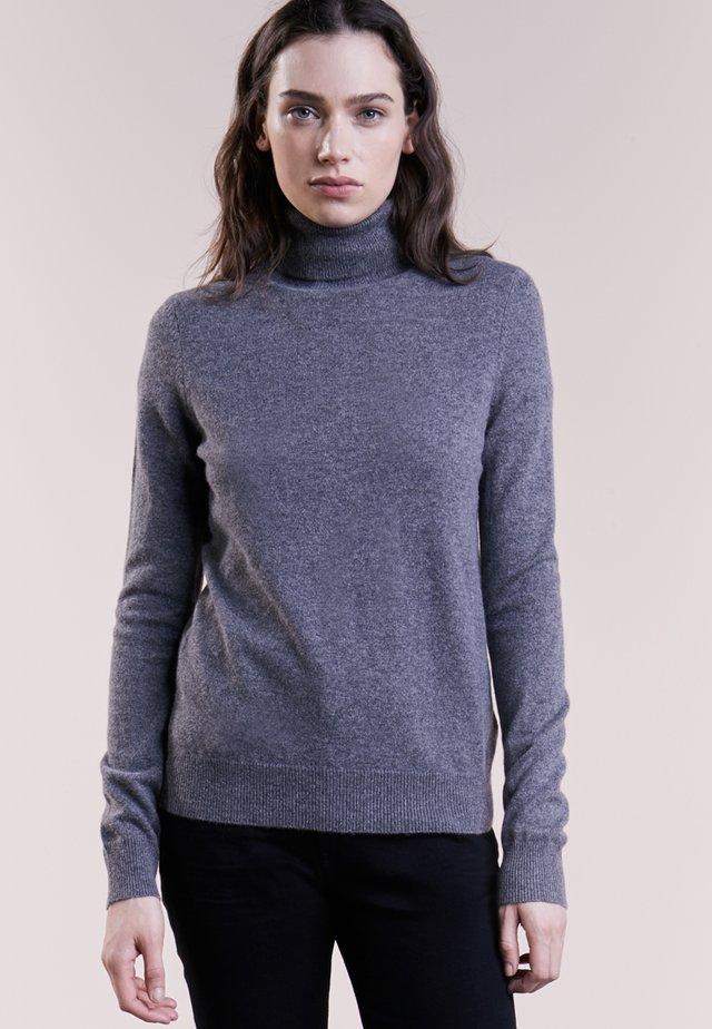Strickpullover - medium grey