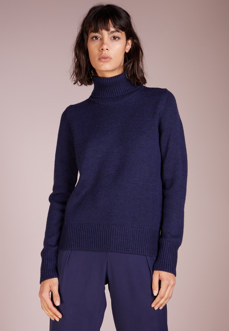 Repeat - ROLL NECK - Pullover - ink
