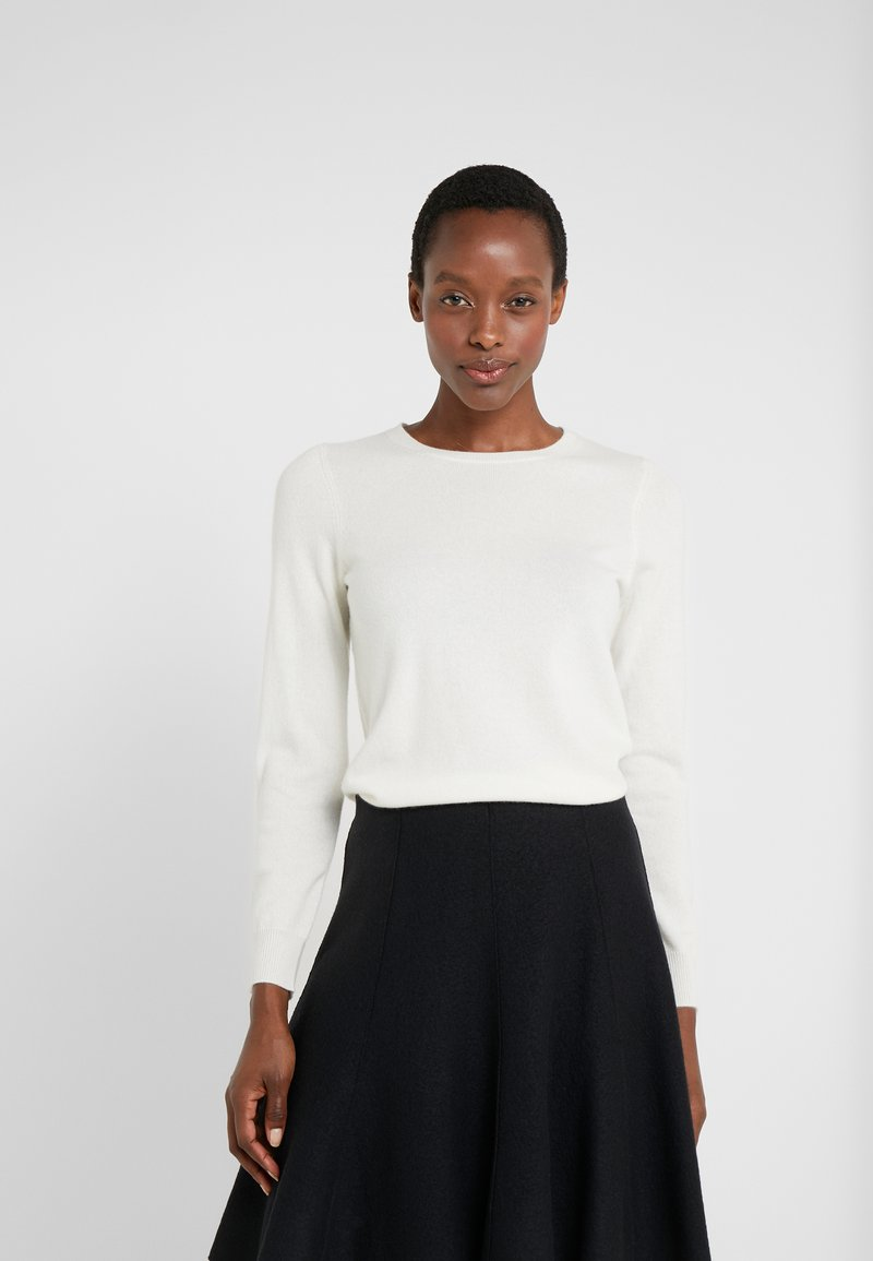 Repeat - CREW NECK CASHMERE - Strickpullover - off white