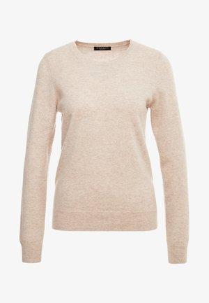 CREW NECK - Pullover - beige melange