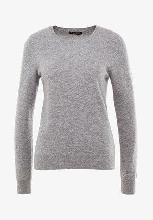 CREW NECK - Strickpullover - light grey
