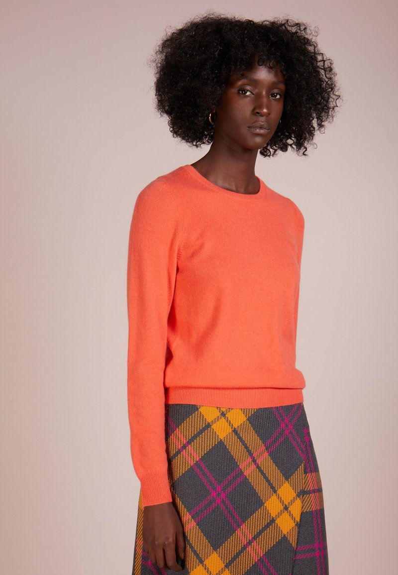 Repeat - CREW NECK - Sweter - orange