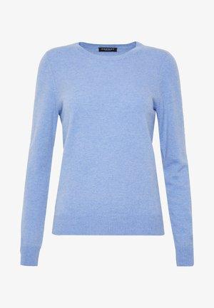 CREW NECK - Jersey de punto - med blue