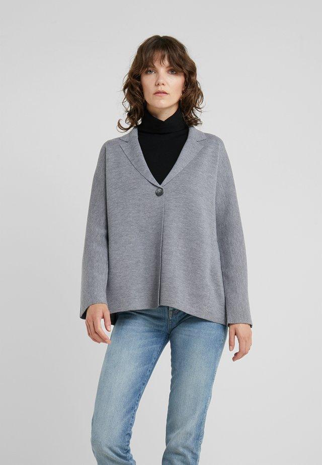 Strickjacke - blue/grey