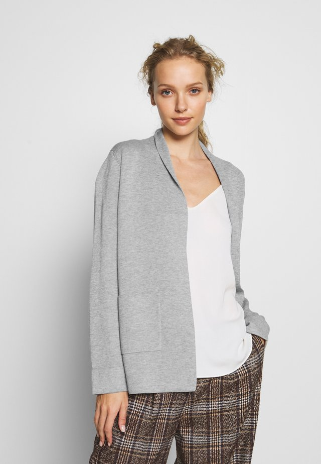CARDIGAN - Strickjacke - grey