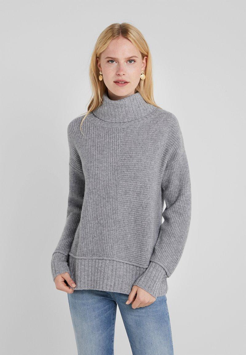 Repeat - Strickpullover - light grey
