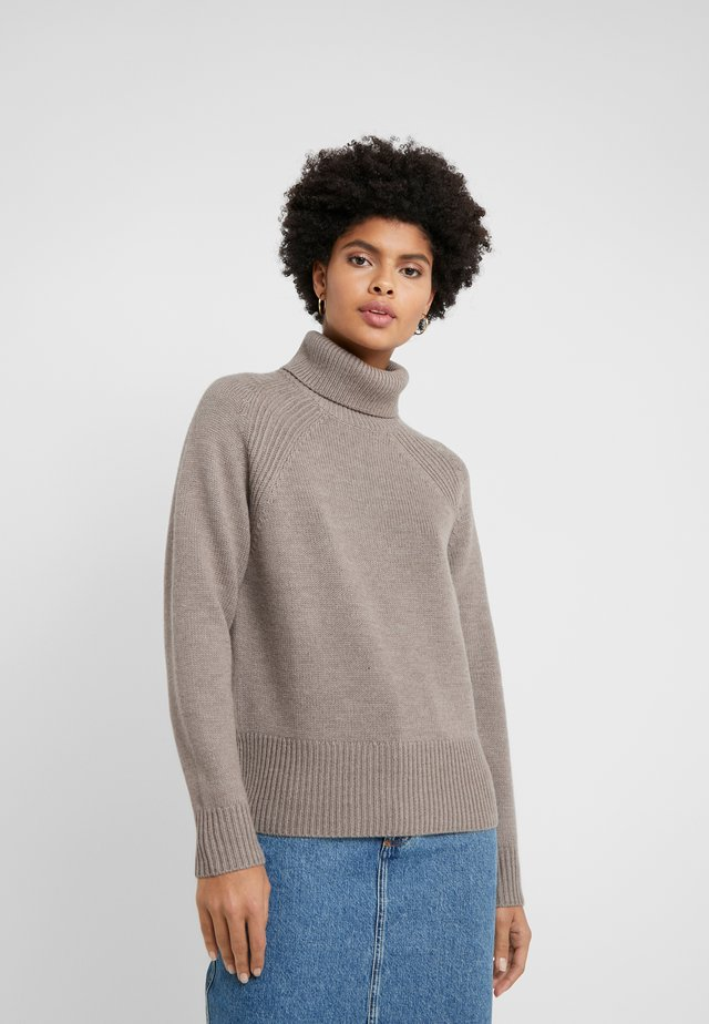 ROLLNECK - Jumper - ash