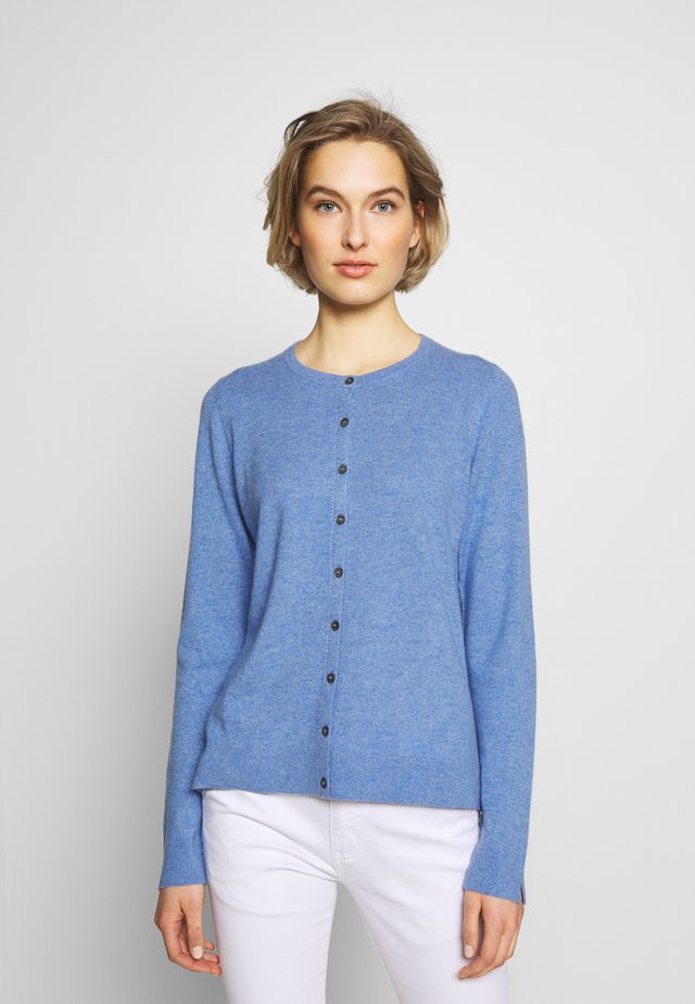 Strickjacke - med blue