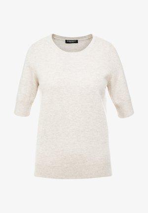 T-shirt z nadrukiem - beige