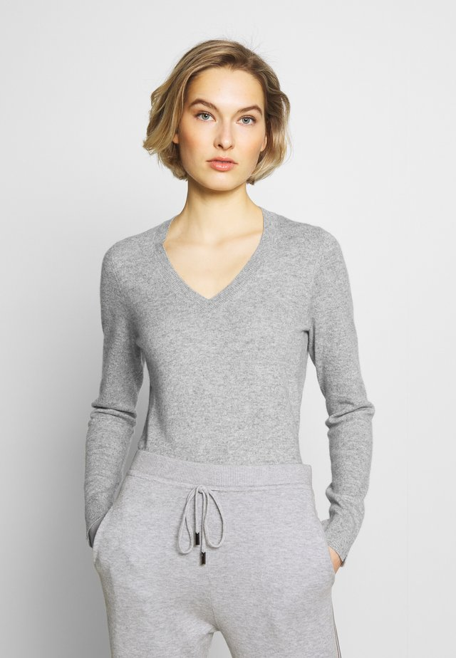 SWEATER - Strickpullover - silver grey