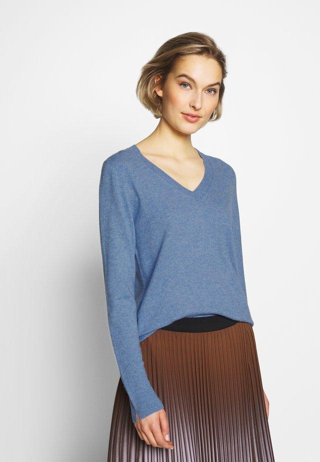Jersey de punto - med blue