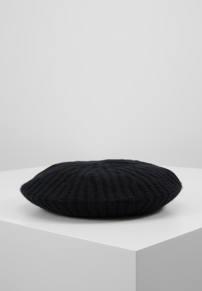 Repeat - BERET - Mütze - black