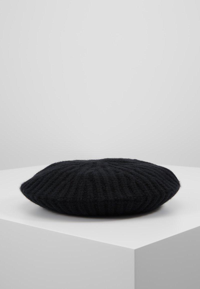 Repeat - BERET - Bonnet - black