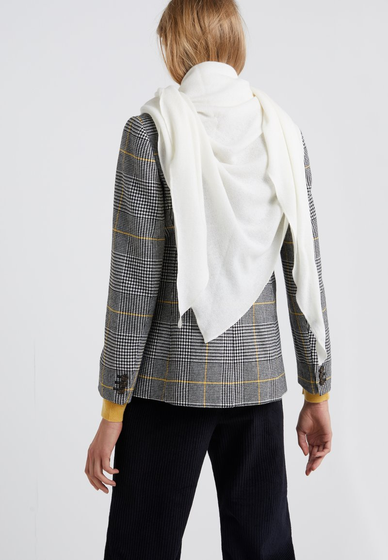 Repeat - TRIANGLE SCARF - Schal - creme