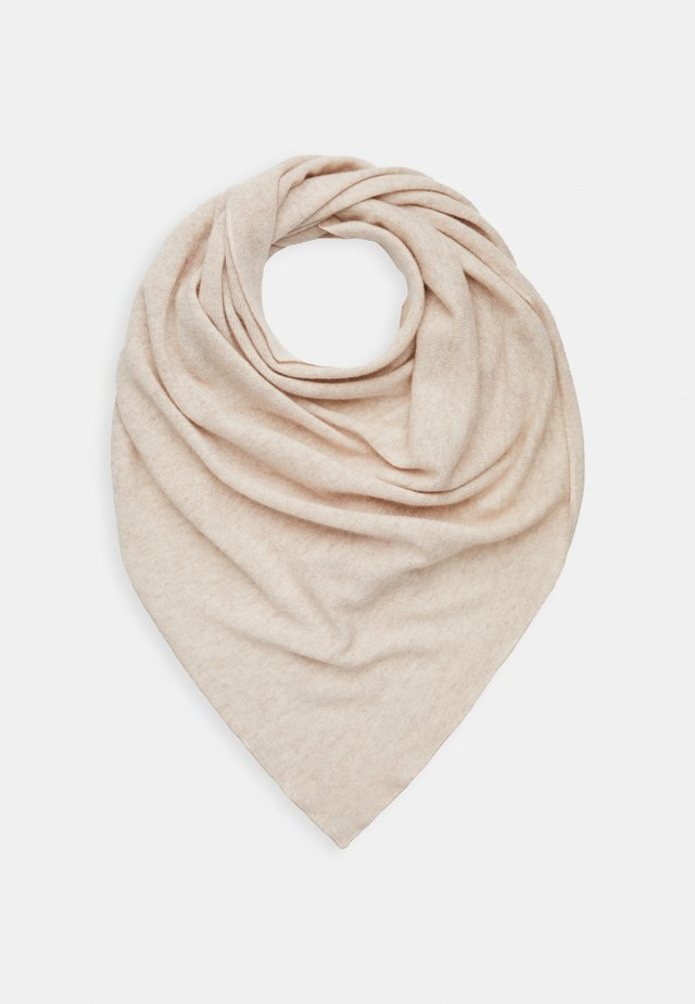 TRIANGLE SCARF - Scarf - creme