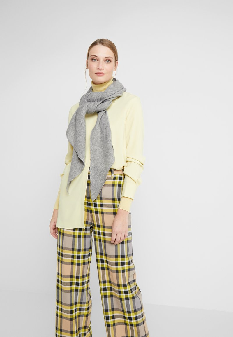 Repeat - TRIANGLE SCARF - Schal - silver grey