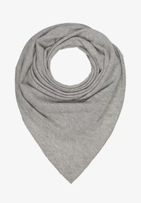 Repeat - TRIANGLE SCARF - Schal - silver grey - 1