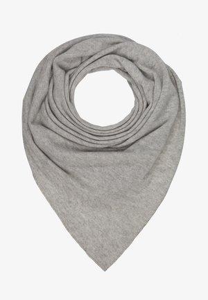 TRIANGLE SCARF - Szal - silver grey