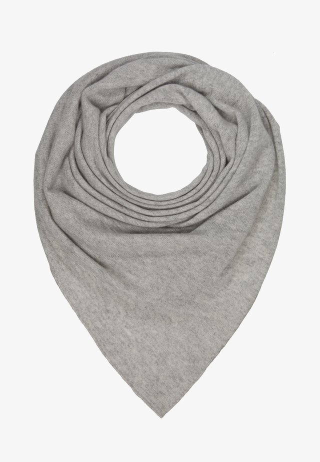 TRIANGLE SCARF - Foulard - silver grey