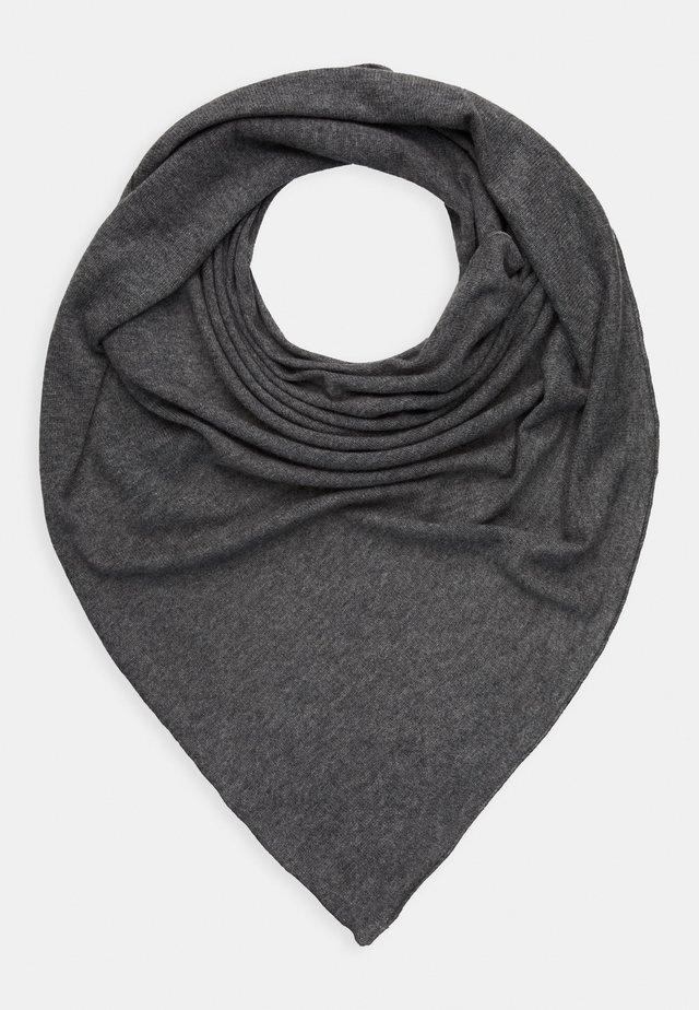 TRIANGLE SCARF - Skjerf - medium grey