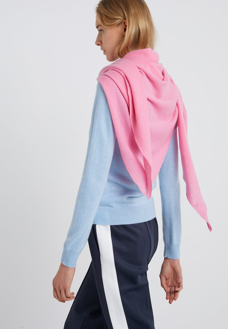 Repeat - TRIANGLE SCARF - Foulard - pink