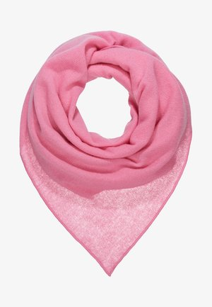 TRIANGLE SCARF - Chusta - pink