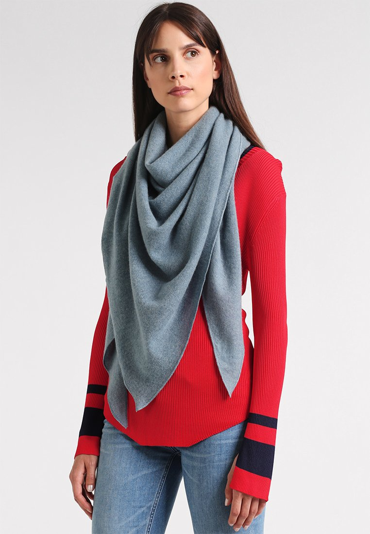 Repeat - TRIANGLE SCARF - Foulard - smoke