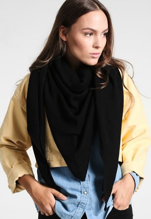 TRIANGLE SCARF - Sjaal - black