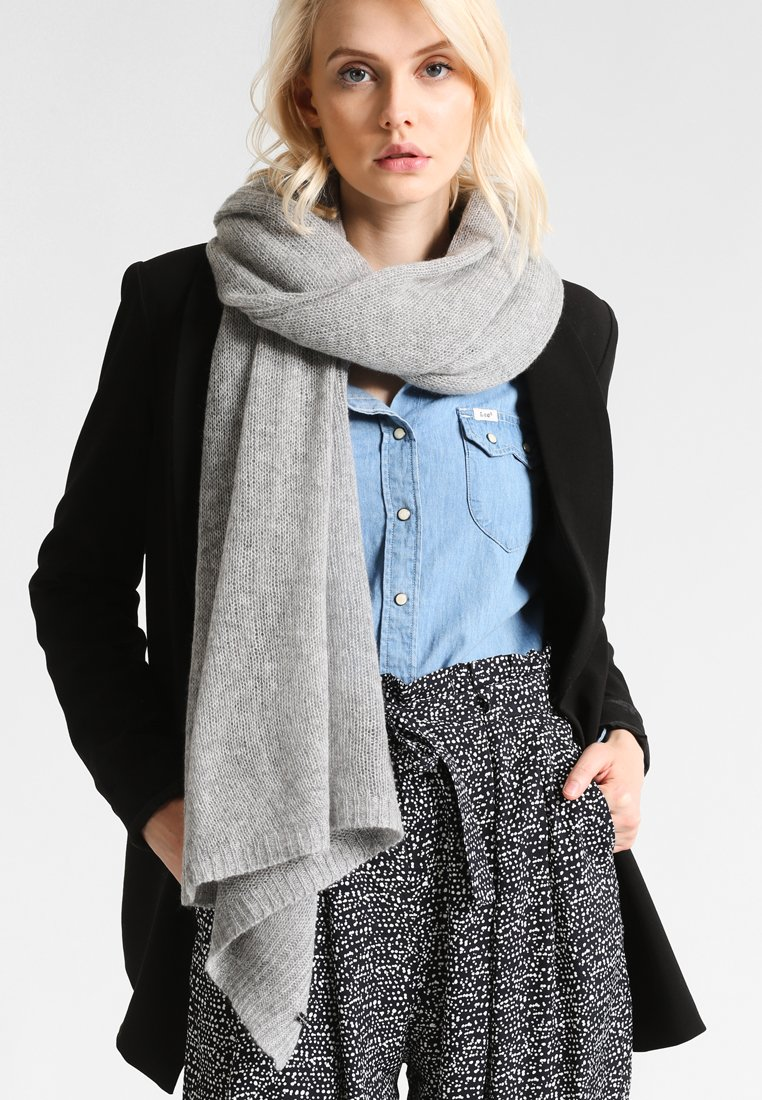 Repeat - SCARF - Sjaal - light grey