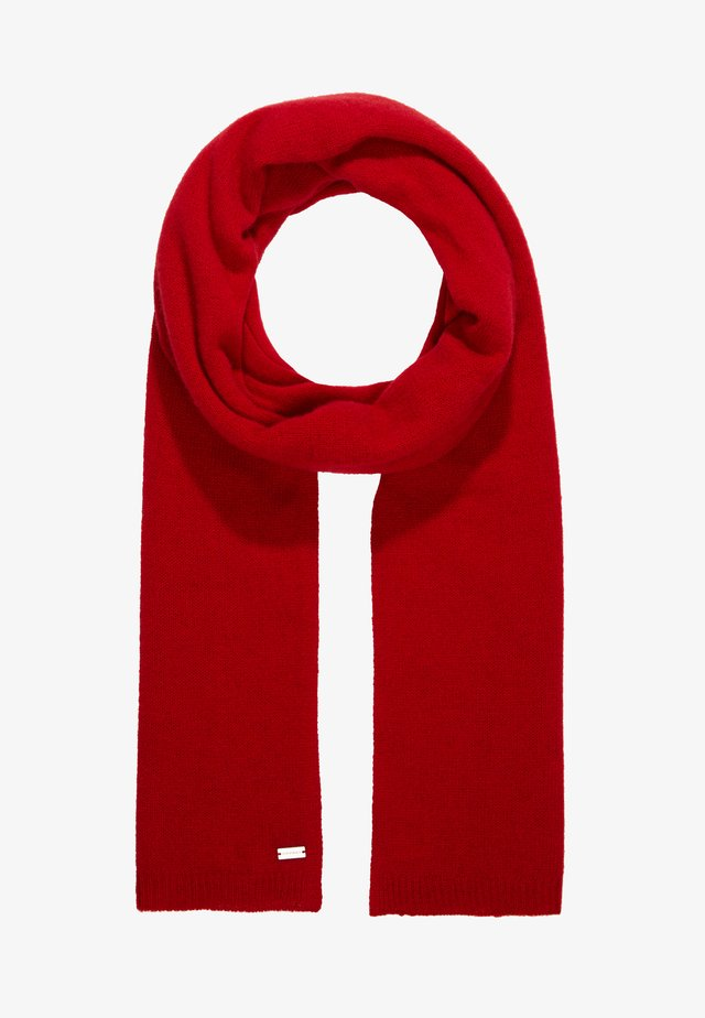 Schal - ruby