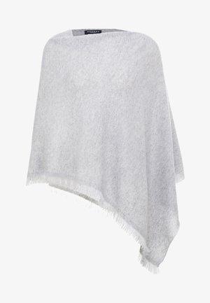 PLAIN PONCHO - Cape - grey