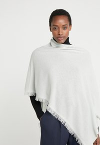 Repeat - PLAIN PONCHO - Poncho - jade - 0
